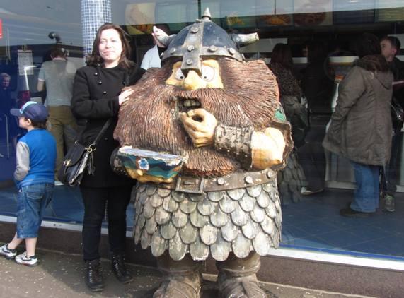 En Ecosse, il faut savoir prendre le Viking par les cornes © Escapades Celtiques