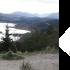 Loch Garry et la carte de l'Ecosse