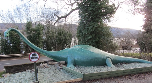 Le lac du loch Ness et son Monstre
