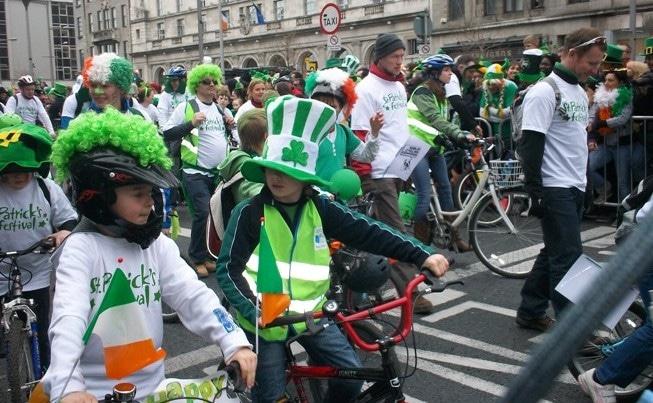 Parade de la Saint Patrick, Dublin 2011, Irlande © Escapades Celtique