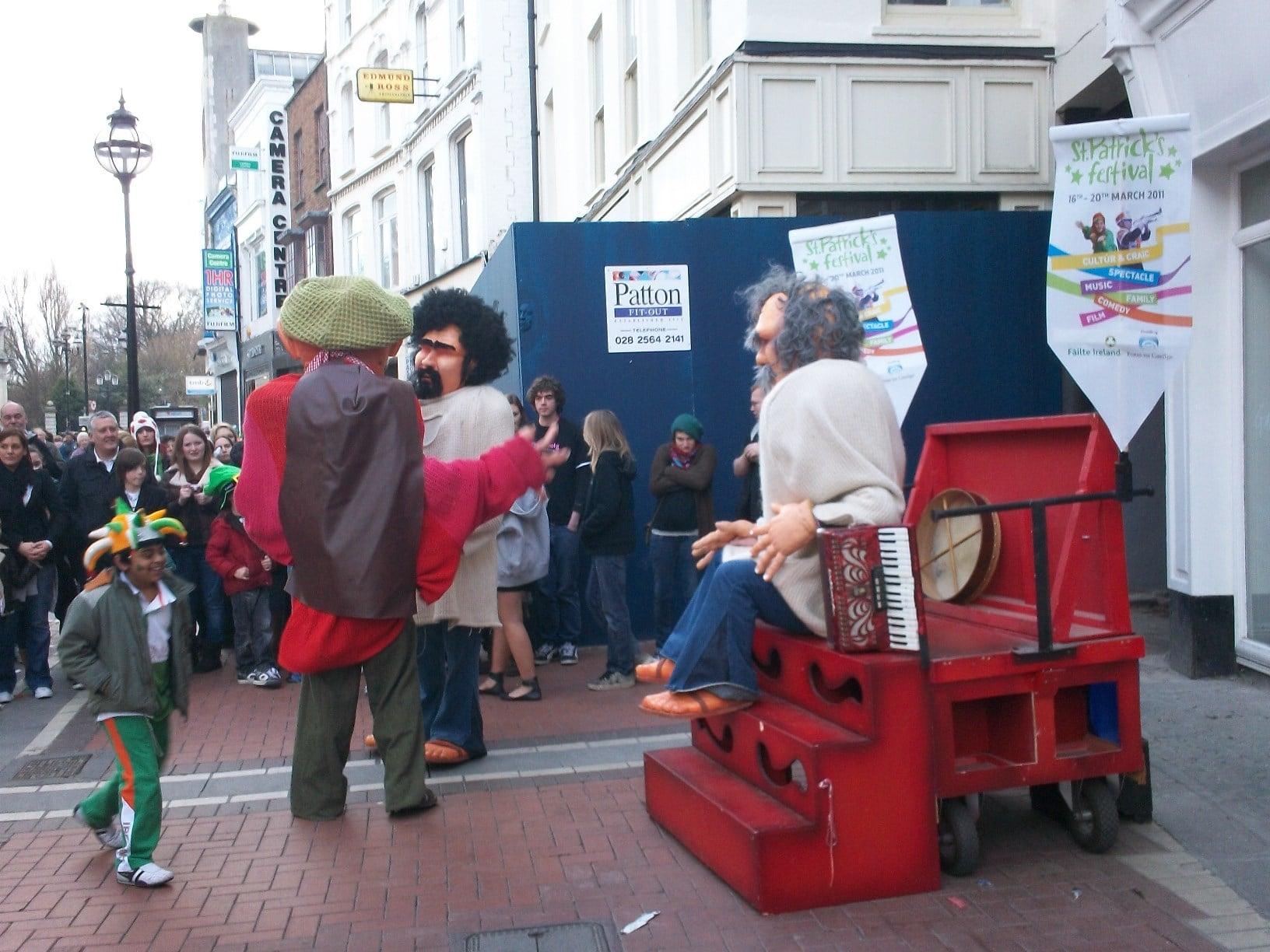 animations de rues - Dublin