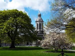 trinity-college-dublin,  ancienne au pair en Irlande