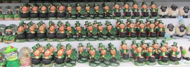 Les leprechauns d'Irlande