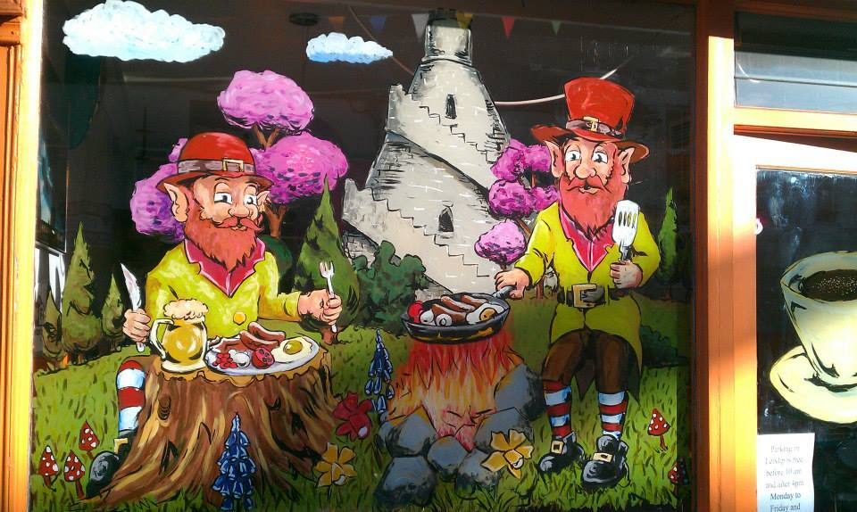 Leprechaun breakfast (Colours by Cathal Crabby O'Gradaigh) – Co. Kildare.  (2013) © Brian Walsh