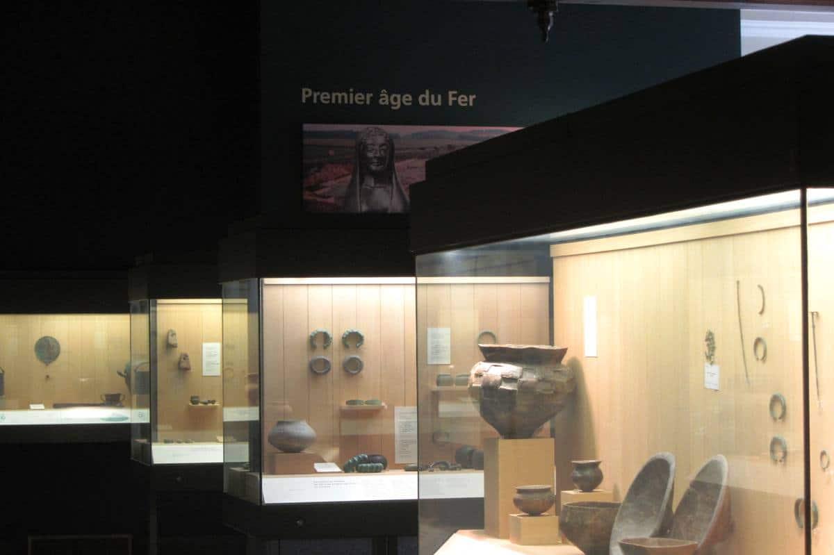 premier age du fer, Musée d'archéologie nationale
