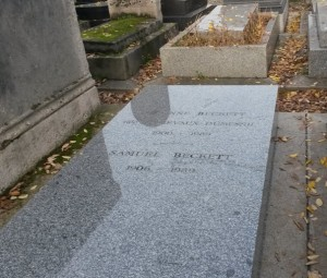 Tombe de Samuel Beckett , Paris © Escapades Celtiques