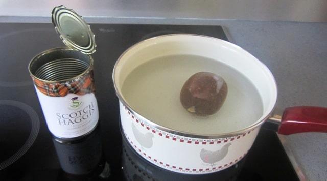 haggis, plat typique écossais