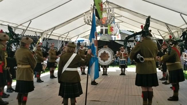 91st Gâtinais Highlander Pipeband