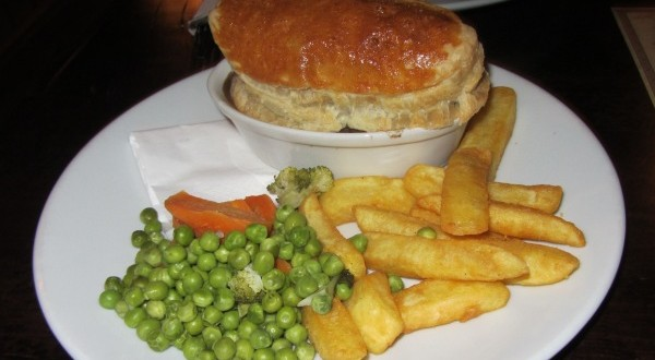 Guinness pie, pub waxy o'connors
