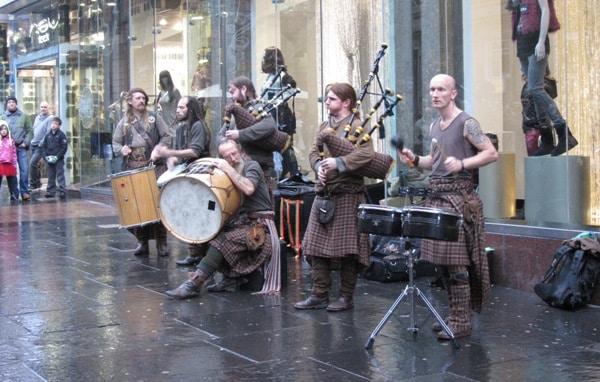 musique écossaise Clanadonia