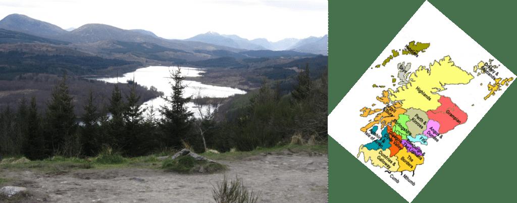 Lac écossais insolite