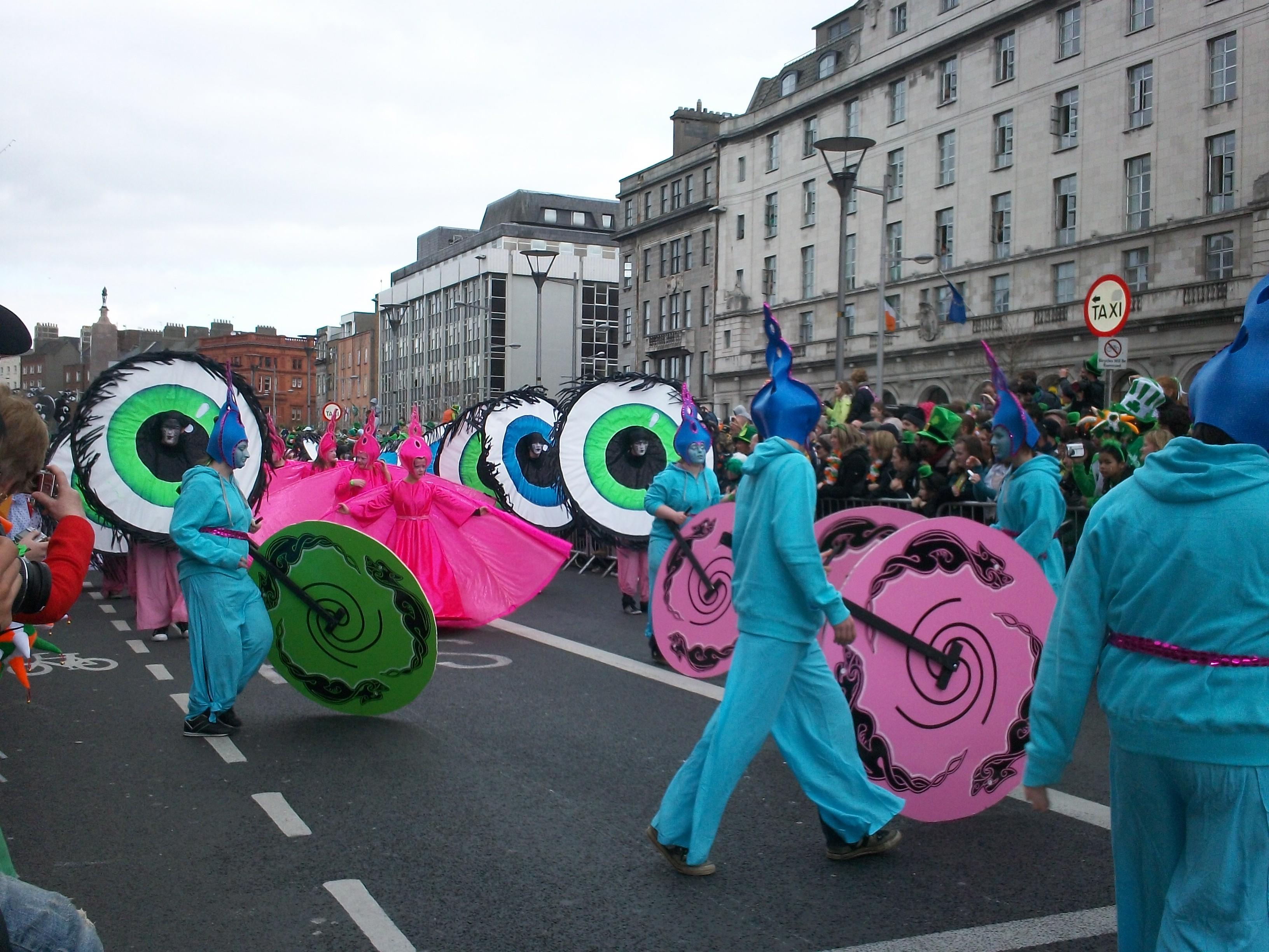 Parade Saint Patrick, Dublin