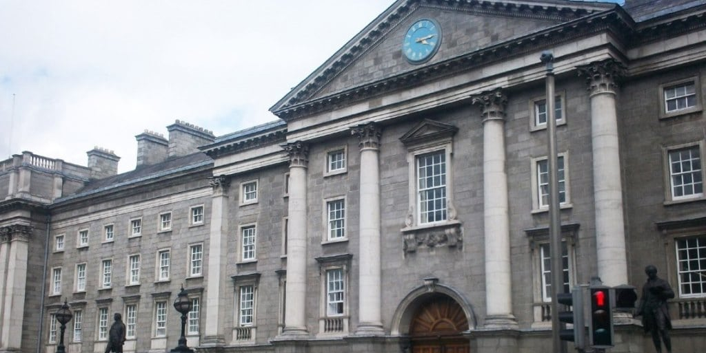 Photo de Trinity College, la plus ancienne université d'Irlande