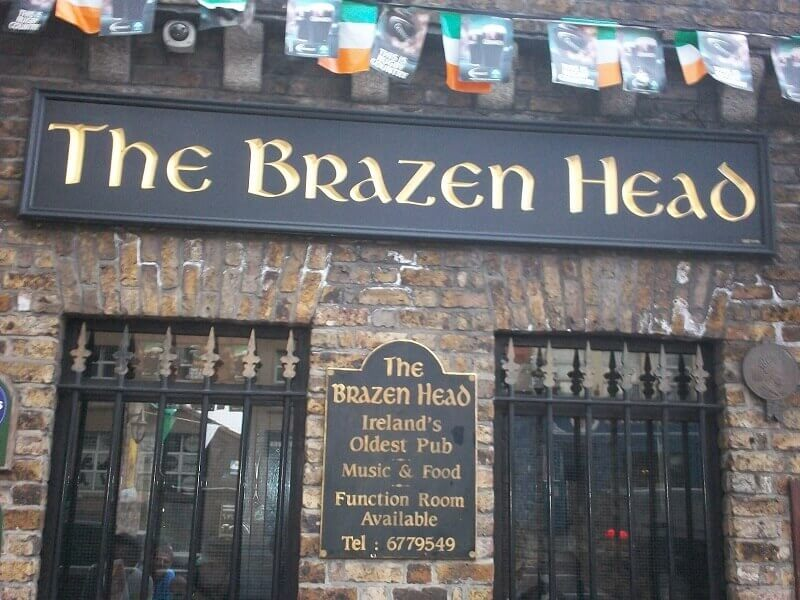 The Brazen Head, Dublin © Escapades Celtiques