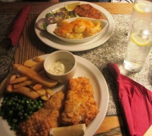 Fish and Chips © Escapades Celtiques