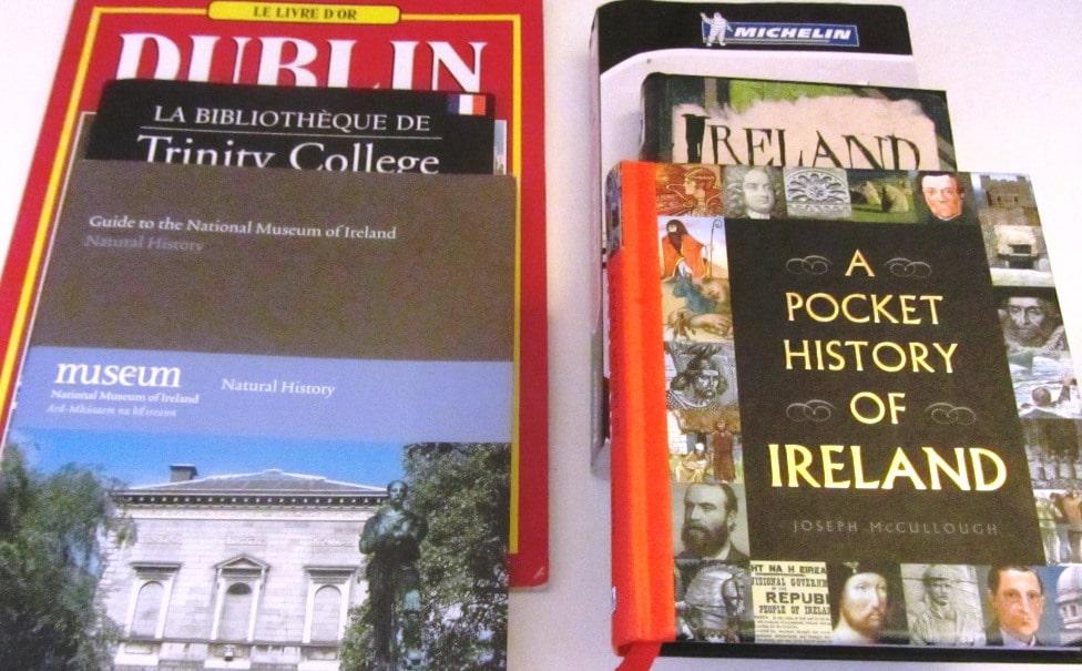 Ouvrages sur l'Irlande - Mes souvenirs d'Irlande