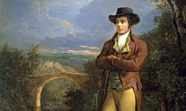 Robert Burns by Alexander Nasmyth.