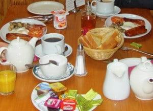 Petit-Déjeuner irlandais © Escapades Celtiques