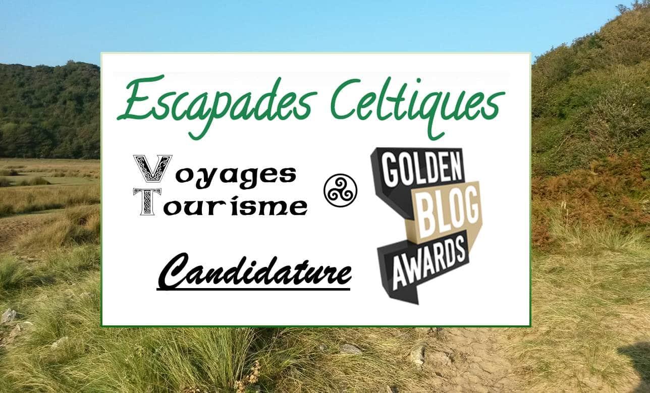Photo de Présentation aux Golden Blog Awards, catégorie Tourisme