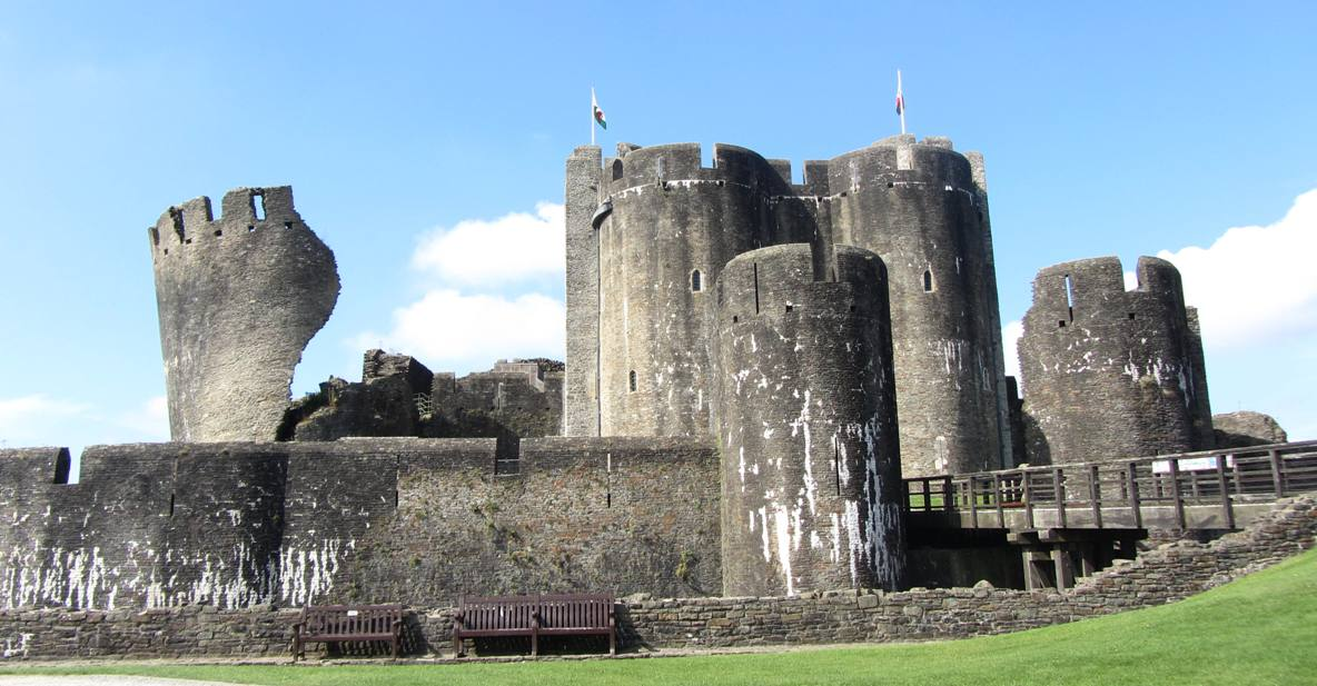 Photo de Château de Caerphilly, le plus grand du Pays de Galles