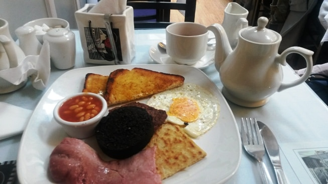 Breakfast, Willow Tea rooms, Edimbourg © Escapades Celtiques