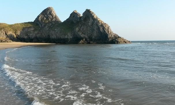 Three Cliffs Bay, Péninsule de Gower, Pays de Galles, © Escapades Celtiques