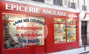 Epiceries irlandaises et britanniques sur Paris