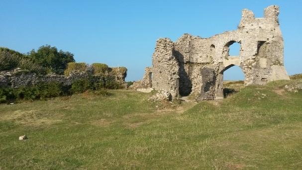 Pennard Castle, Péninsule de Gower, Pays de Galles, © Escapades Celtiques