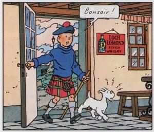 loch lomond tintin