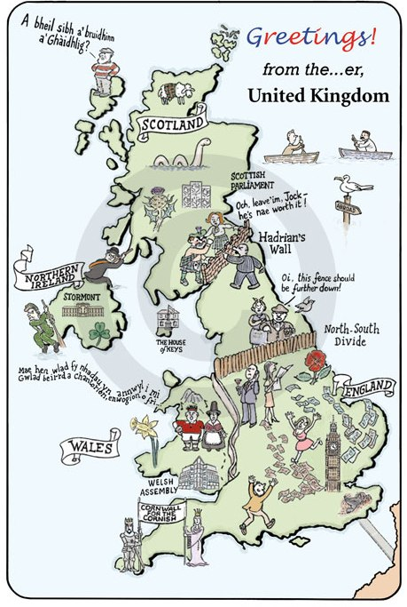 How to be British 2 - Map