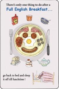 full english breakfast, how to be british