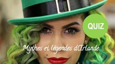 quiz irlande mythes et légendes