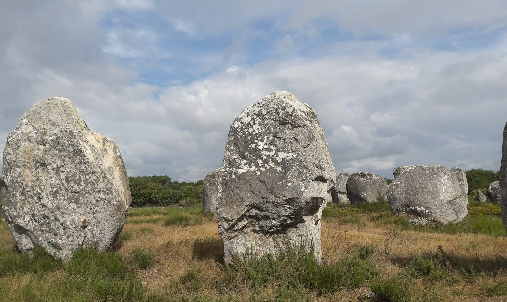 Les menhirs de Carnac, Bretagne © Escapades Celtiques
